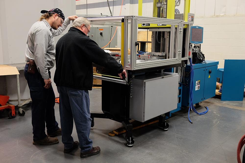PPI Injection Molding Machine | Pleasant Precision, Inc